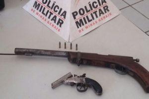 Divino: Homem é preso com arma de fabricação caseira
