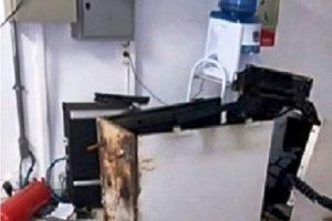 Caixa eletrônico é explodido em São Francisco do Glória