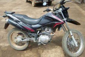 PC localiza motocicleta roubada no ES no Distrito de Palmeiras