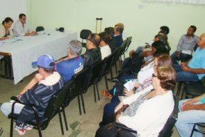 Conselheiros debatem saúde pública de Manhuaçu