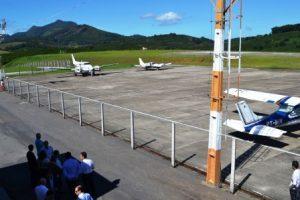 Aeroporto de Santo Amaro de Minas é preparado para receber vôos