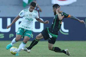 América perde do Palmeiras e depende de milagre