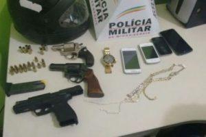 PM prende três assaltantes de Correios em Luisburgo. R$ 14 mil recuperados