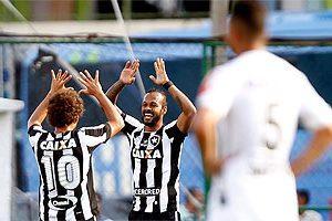Atlético é derrotado pelo Botafogo