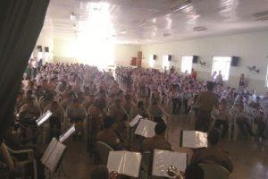 Semana do Trânsito: Banda da PM participa de evento no Colégio Tiradentes
