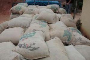 PM de Orizânia recupera café roubado em Manhuaçu. Valor R$ 130 mil reais