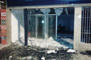 Caixa eletrônico é explodido em Luisburgo