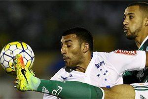 Cruzeiro segura o Palmeiras no interior de São Paulo
