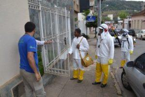 Manhuaçu realiza ação de bloqueio para combater mosquito da dengue