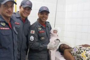 Bombeiros auxiliam mais um parto em Manhuaçu