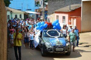 São Pedro do Avaí comemora 3º aniversário do Terço dos Homens