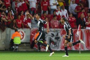 Atlético e Palmeiras empatam de 1 a 1