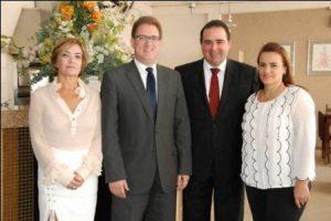 Dirigentes da OAB Manhuaçu recebem visita do tesoureiro da OAB/MG