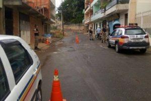PM realiza operação nas entradas e saídas de Manhuaçu