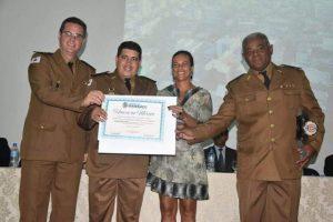 Policiais militares recebem homenagem em Manhuaçu e cidades da região