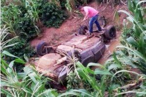 Criança de 4 anos morre em acidente de carro na BR 116
