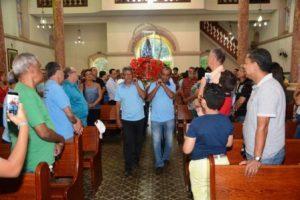Imagem peregrina de Nossa Senhora Aparecida em Manhuaçu