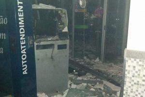Caparaó: Bando de ladrões detonam caixas de 3 agências bancárias