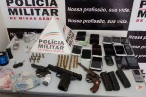 PM prende autores de roubo a ônibus e motel em Ipanema