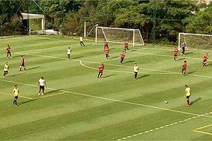 Atlético: Treino da segunda tem Cazares no time titular