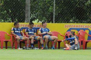 Cruzeiro treina contra o Araxá: 3 a 0