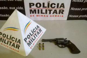 Ações da PM: Menores, revólver e drogas apreendidos, atirador preso