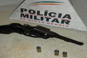 Assaltante resiste a abordagem da PM e tenta atirar em policial de Divino