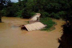 Queda de ponte no Barreiro: MG 111 pode ser fechada pela população