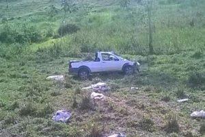 Capotamento mata jovem em Mutum