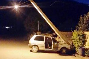 Santa Margarida: Roubam, fogem, batem o carro e são presos pela PM