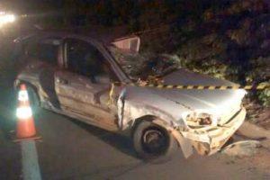 Acidente mata motorista em São João do Manhuaçu