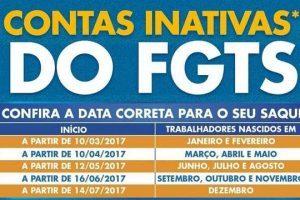 Saques de contas inativas do FGTS começam dia 10 de março. Veja a escala