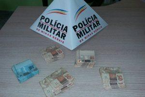 Manhuaçu: PM recupera cerca de 5 mil reais furtados e prende autor