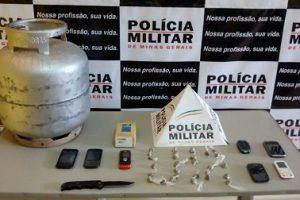 Jovens presos e produtos furtados recuperados em Lajinha