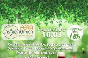 Sexta-feira de Feira Gastronômica em Manhuaçu