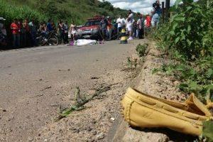 Acidente com vítima fatal na região e Caratinga