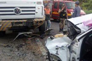 Martins Soares: Idosa morre em acidente na BR 262