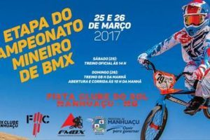Etapa do Campeonato Mineiro de BMX movimenta Manhuaçu neste final de semana