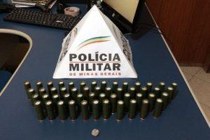 Chalé: PM prende autor de homicídio tentado e apreende 50 munições