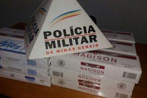 Durandé: Polícia apreende cigarros contrabandeados