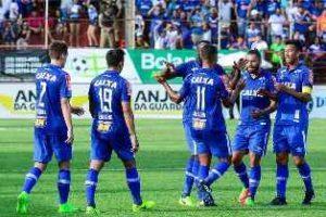 Cruzeiro vence América/TO : 1 a 0
