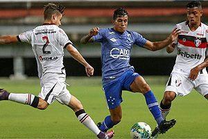 1ª Liga: Cruzeiro reserva empata com o Joinville