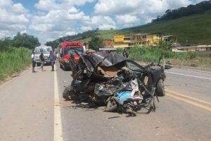 Inhapim: Jovem morre em acidente na BR 116