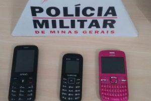 Manhuaçu: PM recupera celulares furtados e prende autores por furto e receptação
