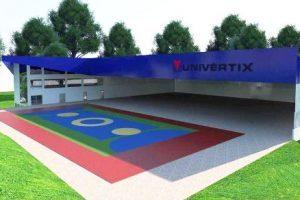 Iniciada a construção do Complexo Esportivo da Univértix Matipó