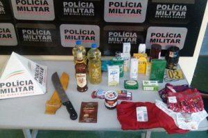 Manhumirim: Polícia Militar prende autores de furto