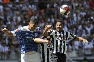 Empate na partida entre Atlético e URT: 1 a 1