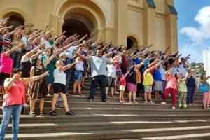 Dia Mundial da Saúde e da Atividade Física movimenta Manhuaçu