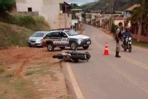Dentista morre após queda de motocicleta, em Lajinha