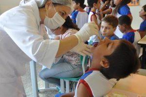 Escolas públicas terão vacinação e ações de prevenção à obesidade